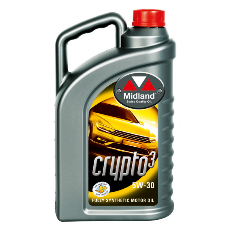 Frisk Midland Crypto3 5W-30 4L - Motorolie til biler - Motorolie YK-57