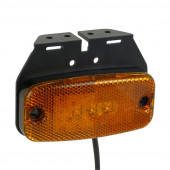 Positionslys Gul 60x65mm 2stk 9-32V LED