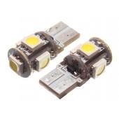 LED W5W 6000K 5xSMD