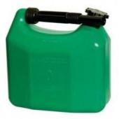 Dunk 5 ltr. Benzin og Diesel grøn m/helstøbt flext