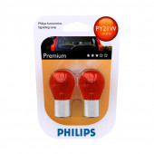Philips PY21W Vision 12V 21W Orange BA15S