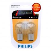 Phillips 12V P21/5W 2-Pak