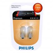 Philips T4W Vision 2stk 12V 4W