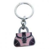 Nøglering 'Pink bag'