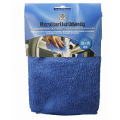 Basta mikrofiberklude 2stk udvendig 35x35cm blå
