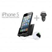 Passiv holder Iphone5 m/USB