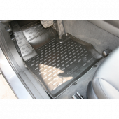 Gummimåtte sæt BMW X3 - 2010 4 stk.