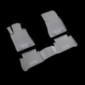 Gummimåtte Sæt Mercedes E-Klasse (W211) 02-09 4 stk