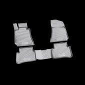 Gummimåtte Sæt Mercedes E-Klasse (W212) 09-> 4 stk