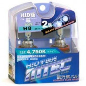 H8 MTEC 4750K 35W 2stk 12V