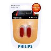 Philips WY5W Orange 5W 12V W2.1X9.5D 2Stk.