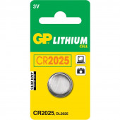 GP Batteri CR2025 3V 1stk