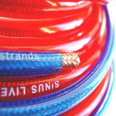 SinusLive NB16 Rød tilbehør-strømkabler
