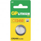 GP Batteri CR2450 3V 1stk