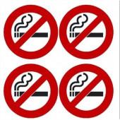 """Klistermærke """"Ikke ryger"""""""