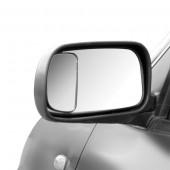 Hvidvinkel spejl firkantet 83x47mm