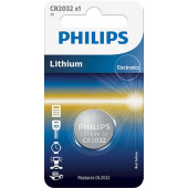 Philips CR2032 Lithium batteri 3V 1stk