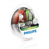 Philips H7 Longlife Ecovision 12V 55W 4 x Levetid