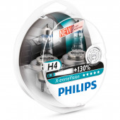 Philips H4 XtremeVision +130% 12V 60/55W 2-pak