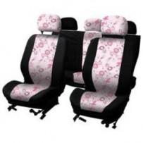 Sædeovertræk 'Pink Flower' Airbag