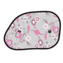 Solskærm 'Pink Flower' hatchback