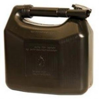 Dunk 5 ltr. Benzin og Diesel sort m/helstøbt flext