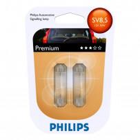Phillips 12V 10W 43mm 2pak SV8,5