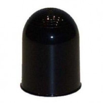 Anhængerknop sort hård plast