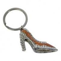 Nøglering 'Diamond Shoe'