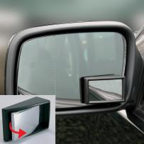 Hvidvinkel spejl Justerbart firkantet 48x29mm