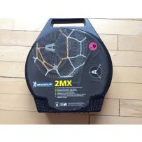 Michelin snekæde 2MX str.8 Tüv, Ø-norm 9mm