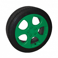 Foliatec Fælgfolie Grøn Mat 2X400ml