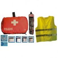 RFX + CARE Førstehjælpstaske med refleksvest