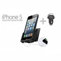 Passiv holder Iphone5 m/USB