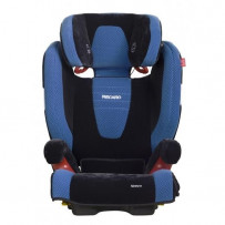 Recaro Monza Seatfix Blå Saphir Autostol 15-36kg