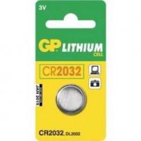 GP Batteri CR2032 3V 1stk