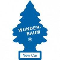 Wunderbaum New Car Blå 1stk