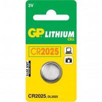GP Batteri CR2025 3V 1stk