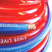 SinusLive NB6 Rød tilbehør-strømkabler