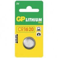GP Batteri CR1620 3V 1stk