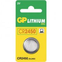 GP Batteri CR2450 3V 1stk