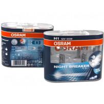 Osram H1 NightBreaker +90% 12V 55W Autopærer 2stk
