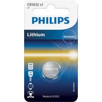 Philips CR1632 Lithium batteri 3V 1stk
