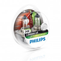 Philips H4 Longlife Ecovision 60/55W 2stk 4x levet