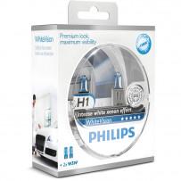 Philips H1 Whitevision Ultra kit12V 60/55W + W5W