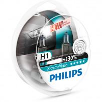 Philips H1 XtremeVision +130% 12V 55W 2stk