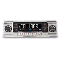 Caliber Retro Radio/CD Sølv MP3/USB/SD