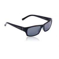 SwissEye Street solbriller blanksort røgfarvet glas