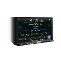 "Alpine Style X800D-U navigation & 8"" multimediecenter"